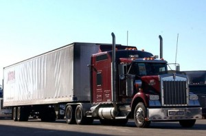 Kenworth truck used by truck driving schools