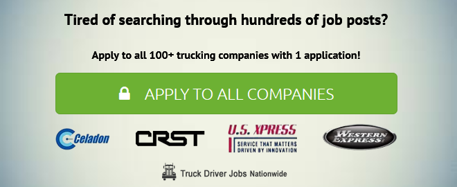 Apply for Trucking Jobs at Trucking Companies